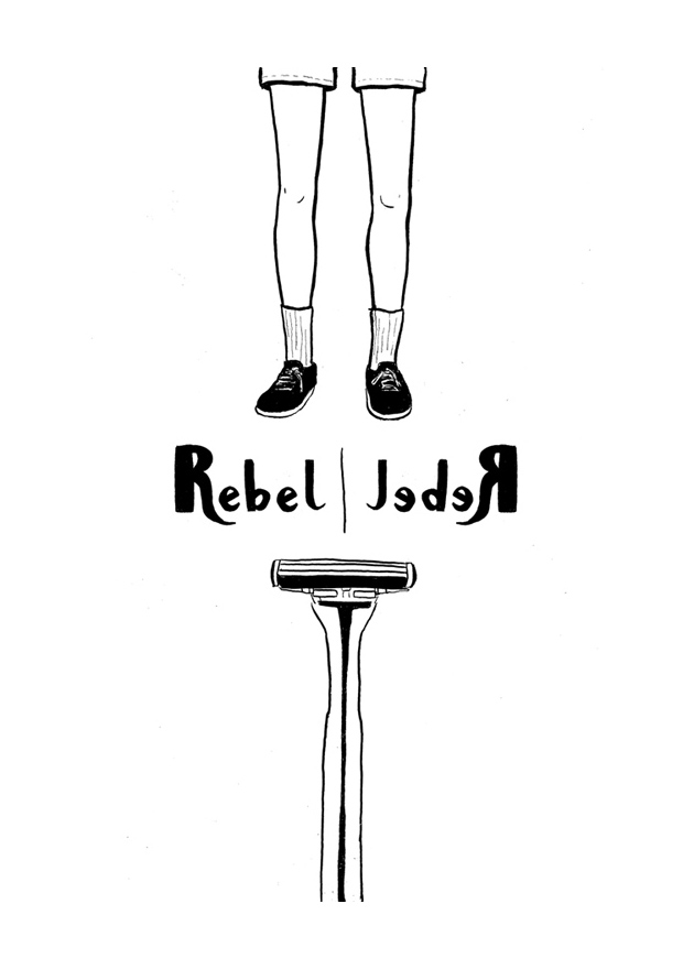 Rebel Rebel page 1/8 (front cover)