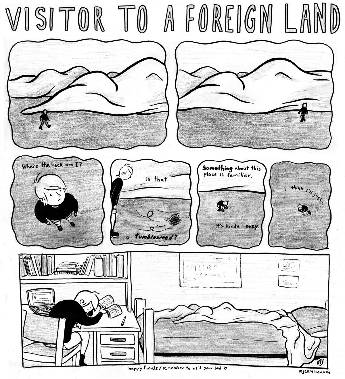 Visitor to a Foreign Land