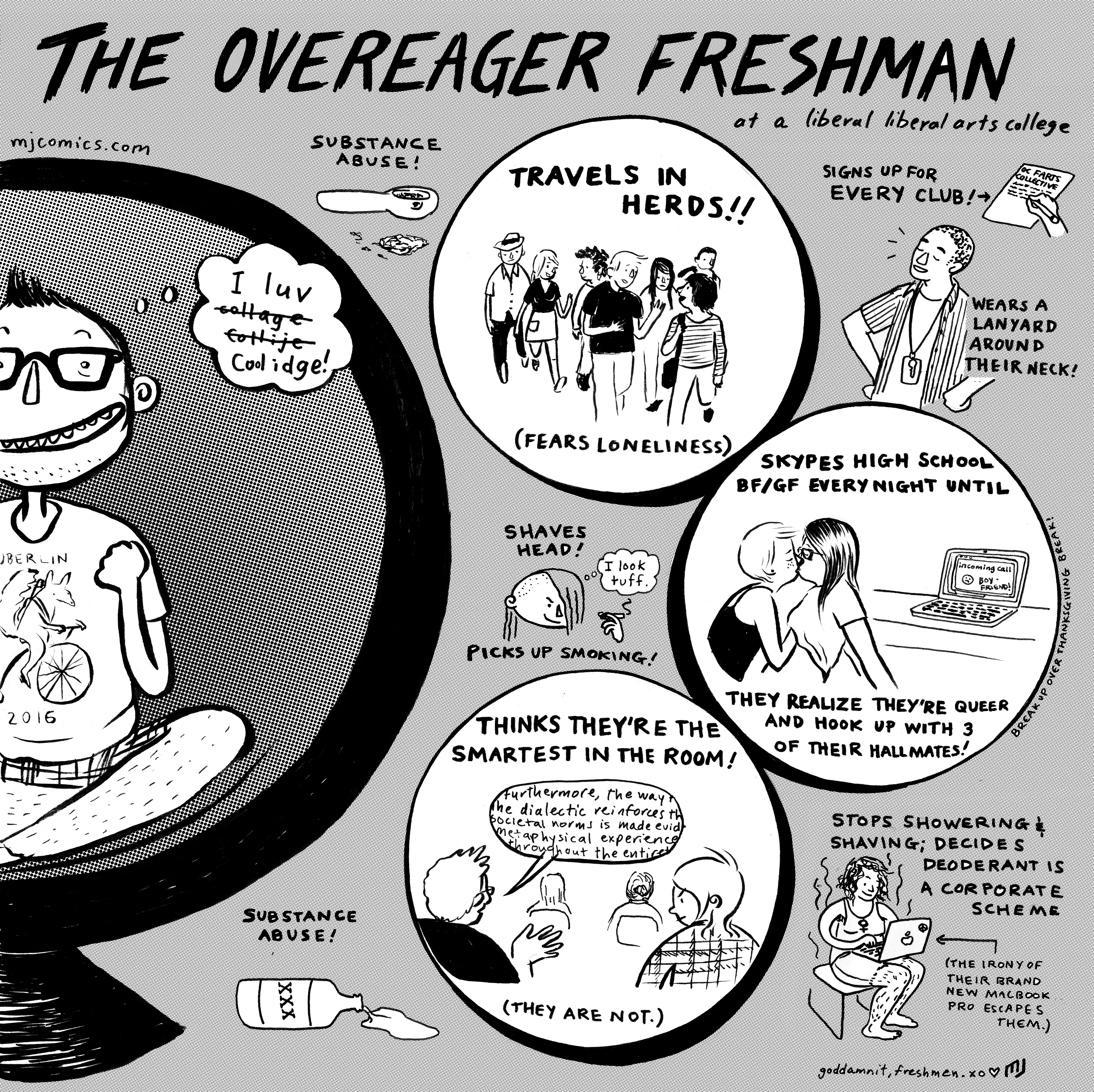 The Overeager Freshman