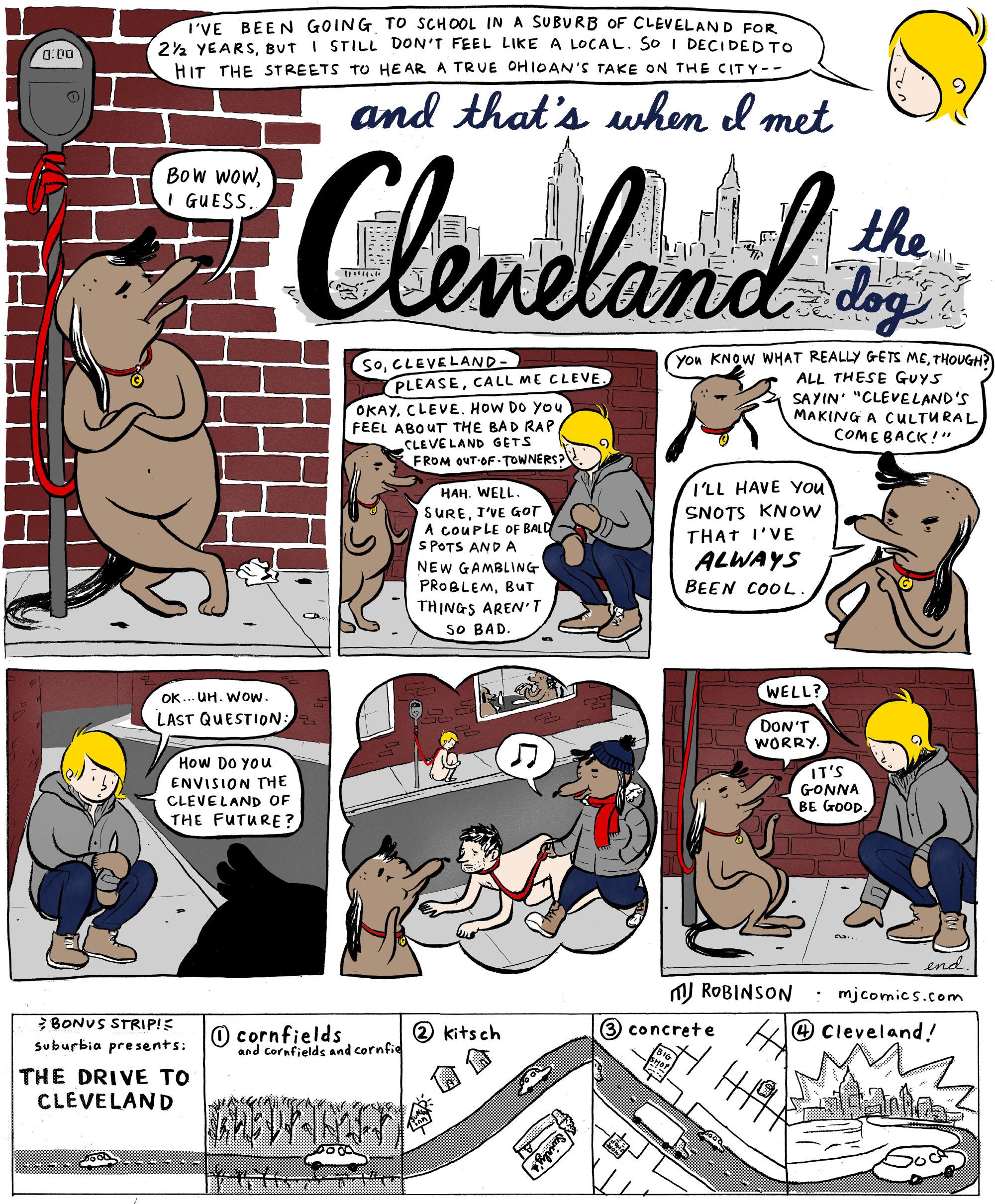 Cleveland the Dog