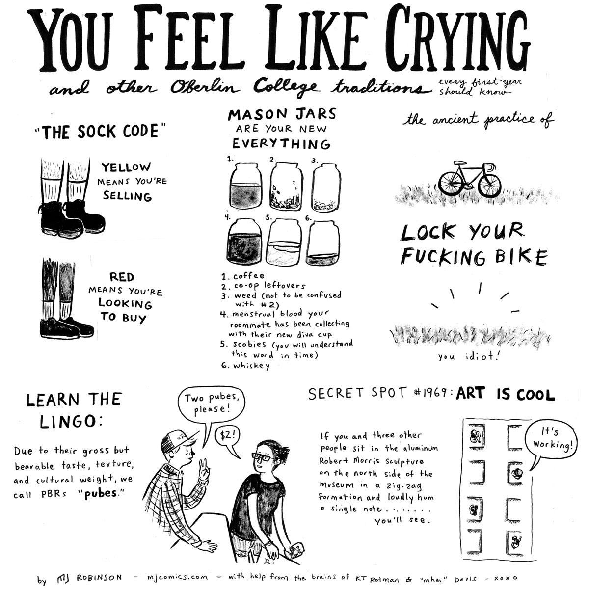 You Feel Like Crying